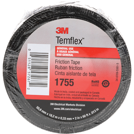 3M 1755 Cotton Friction Tape